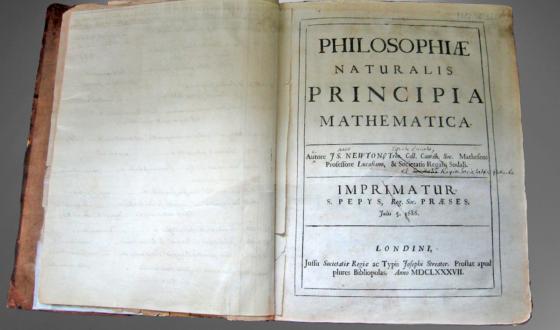 Matematyczne zasady filozofii naturalnej Izaaka Newtona